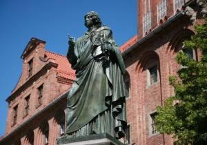 pomnik Mikołaja Kopernika Toruń