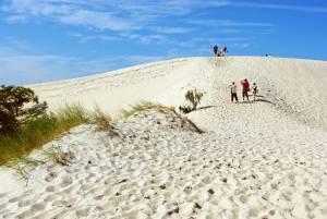 ruchome wydmy słowiański park narodowy