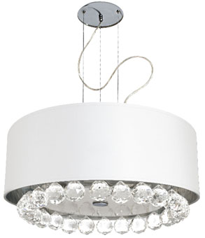 lampa do salonu w stylu glamour